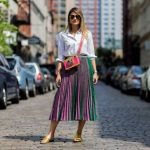 10 Fashionable Ways to Wear a Pleated Skirt